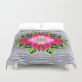 Healing Frequency For Despair Duvet Cover