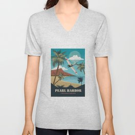 Pearl Harbor - Alternative Movie Poster Unisex V-Neck