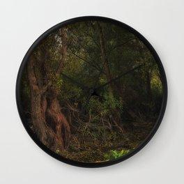 mystic willow Wall Clock