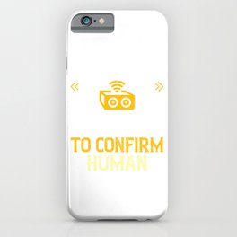Music was invented to confirm human loneliness iPhone Case
