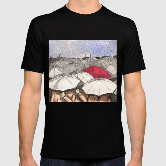 Standing Out in the Rain T-shirt