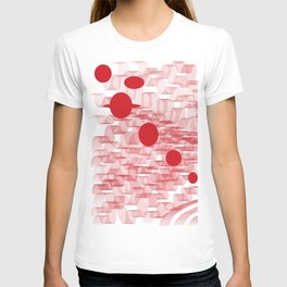 red planets T-shirt