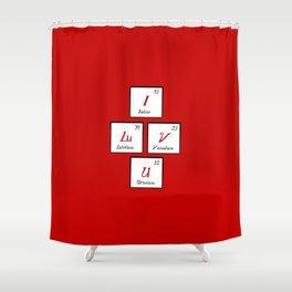 Chemisrty Shower Curtain