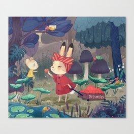 I Love You Bunny Canvas Print