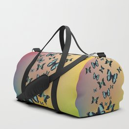 Cluster of Butterflies - Fly Away Home - 57 Montgomery Ave Duffle Bag