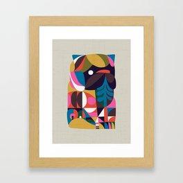 Nordic Pug Framed Art Print