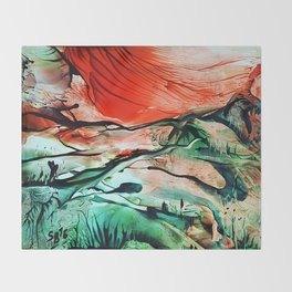 RiverDelta Throw Blanket