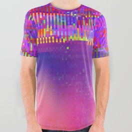 Auroralloverdrive All Over Graphic Tee