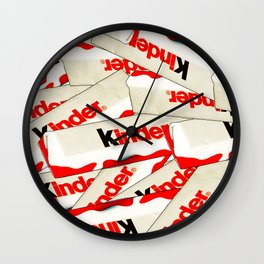 CHOCOLATE BARS Wall Clock