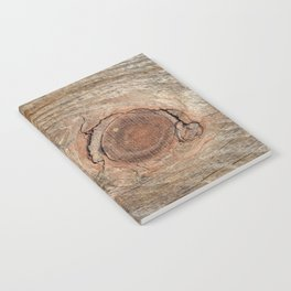 Wood with knot Notebook