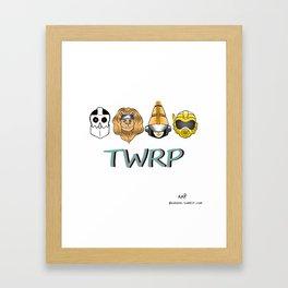 TWRP! Framed Art Print