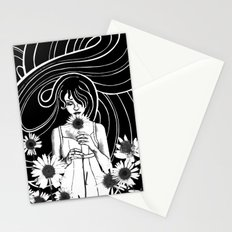 Daisy Girl Stationery Cards