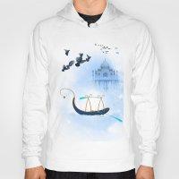 voyage Hoodies featuring VOYAGE by Rash Art