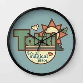 Tahiti Wall Clock