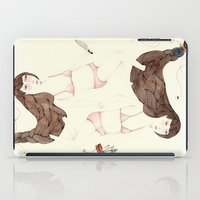 sister iPad Cases featuring Twisted Sister by Brooke Weeber