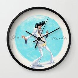Elvis the Pelvis Wall Clock