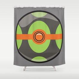 Dusk Pokeball Shower Curtain