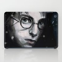 harry iPad Cases featuring Harry by LucioL