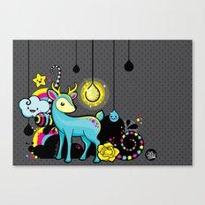 Kawaii Deer Canvas Print