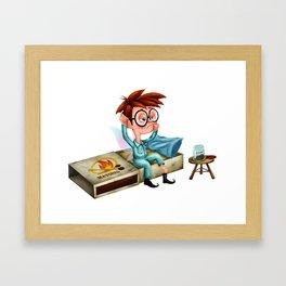 The Cruddy Fairies - Puck Framed Art Print