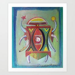 Astrapop 30 Art Print