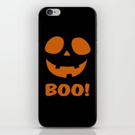 Boo! (Halloween) iPhone Skin