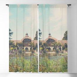 the botanical building in Balboa Park, San Diego Blackout Curtain