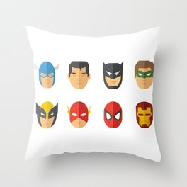 Justice Will Be Served Throw Pillow