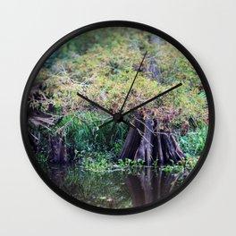 Louisiana Bayou Wall Clock