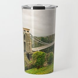 Bristol- Clifton Suspension Bridge Panorama Travel Mug