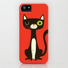 Black Cat Slim Case iPhone (5, 5s)
