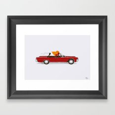 Match Cruise Framed Art Print