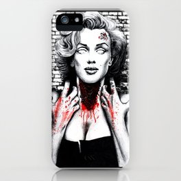 "DEAD GIRL SUPERSTAR ""BEAUTIFUL MONSTER"" iPhone Case"