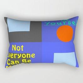 Be Yourself MMc Rectangular Pillow