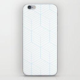 ZADA ((baby blue)) iPhone Skin