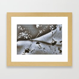 Silly String Series - Collarbone  Framed Art Print