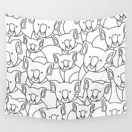 Minimalist Koala Wall Tapestry