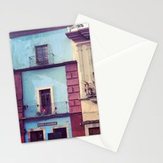 Mexican houses Stationery Cards