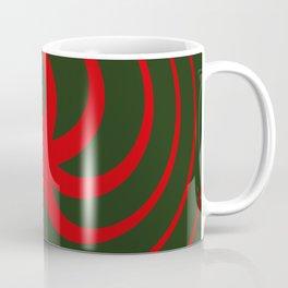 Red Spin Coffee Mug