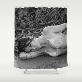 Annalise 8 Shower Curtain