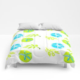 Aqua Stars Comforters