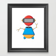ROBOT SI Framed Art Print