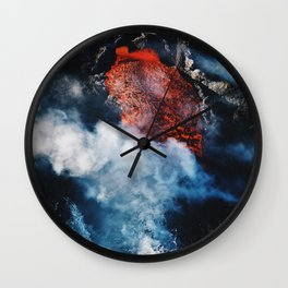 Fire and Fury Wall Clock