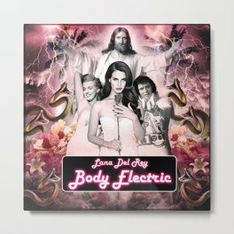 Body Electric I Metal Print