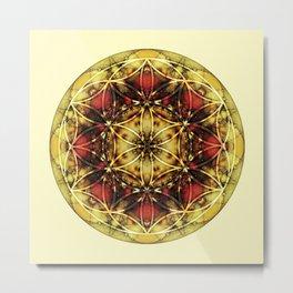 Sacred Geometry Mandalas 4 Metal Print