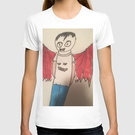 Vampire Goth kid another of my Goth fashion designs T-shirt