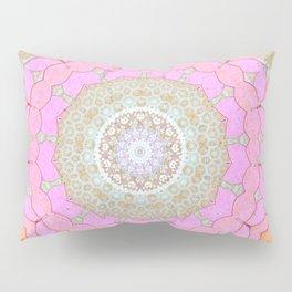 Lotus Blossom Mandala Pillow Sham