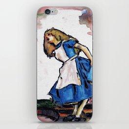 Alice  iPhone Skin