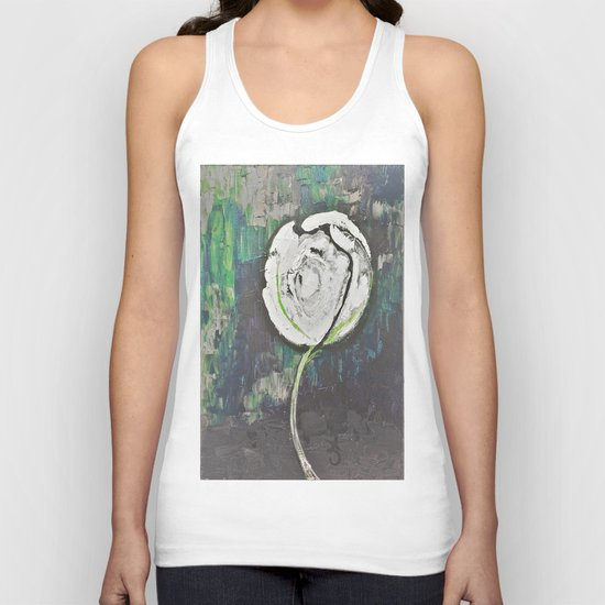 Golden Rose Acrylic Icey Green Mint Chocolate Chip Unisex Tank Top