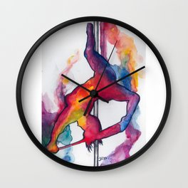 Tiny Dancer Collection: Michelle Mynx Wall Clock